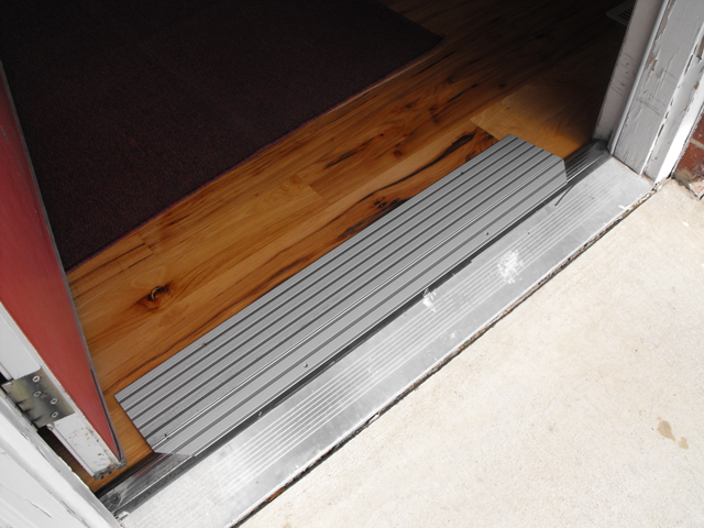 Special Needs Resource Project: Retrofit Door Sill Ramp
