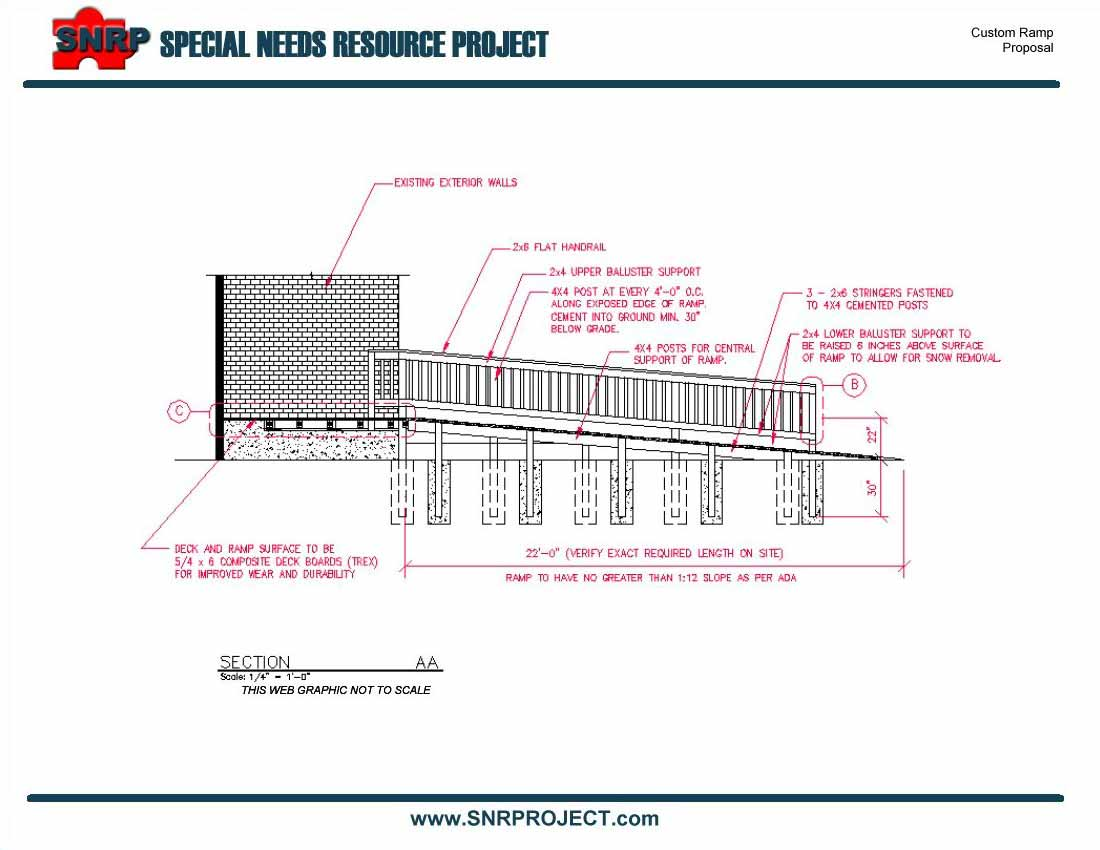 wheelchair ramp plans